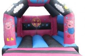 Peppa Pig bouncy castle 11ft x 15ft for children