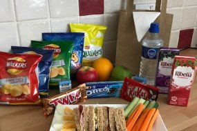 Children's party lunch options