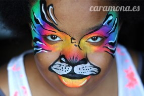Monkey Face Facepaint