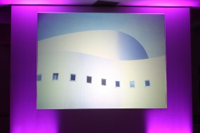 Large Screen and Surround Set Rear Projection