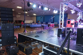 pulse sound & lighting with Showaddywaddy