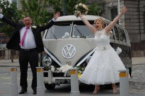 VW Campervan for weddings