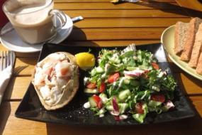 Beautiful Fresh Crab Salads.