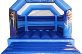 Frozen Themed Bouncy Castle Hire Leeds Harrogate Yorkshire