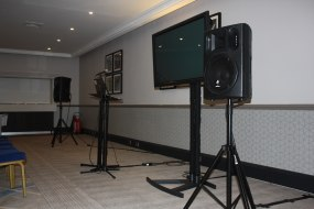 PA System & Mic, Lectern and Plasma TV