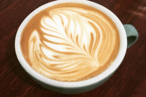 Latte art on your Latte, Flat White, Cappuccino or Cortado