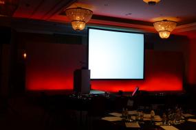 Audiovisual Production Stage Set