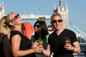 Private summer party in Central London