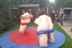 Sumo suits suitable for adults