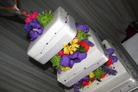 Fresh flower Wedding Cake, Occasion Angel