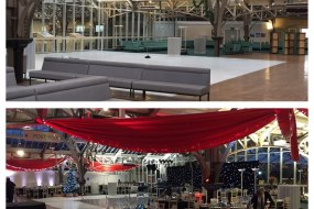 Event Planning & Venue Transformation - Before and After.