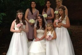 Vintage Bridesmaide Bouquets, Occasion Angel