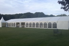 Marquees for weddings, parties and corporate events