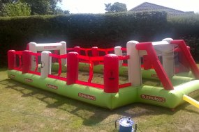 Inflatable Subbuteo Football Pitch