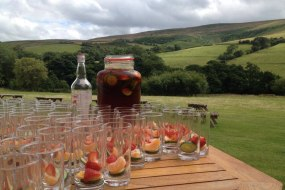 Summer welcome drinks