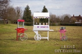 candy cart popcorn candy floss
