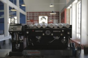 Espresso machine event setup