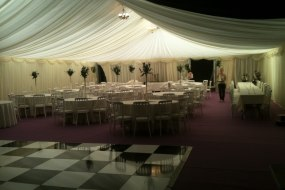 dance-floor party marquee