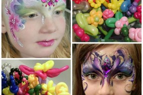 JuliaArts.co.uk Twisted Balloons and Deluxe Face Painting