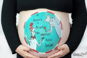 Bump pregnancy belly painting