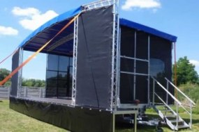Showcase Stage Sound & Lighting Hire