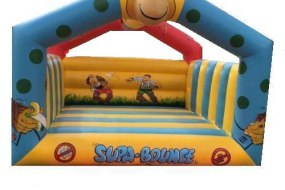 cheeky monkey bouncy castle