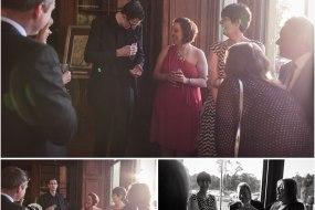 Wedding Magician Chris Peskett in action