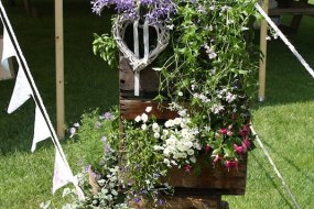 Floral crate display