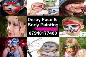 Derby Face and Body Painting