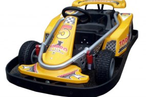 Our Formula One inspired Go Karts are a guaranteed winner at any event.