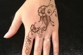 Beautiful Henna Tattoo Design