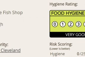 Council food hygiene rating