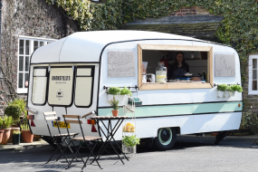 classic caravan bar, icecream, espresso martini