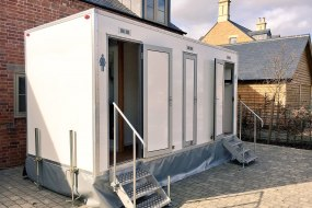 Fortis Hire - Luxury Toilet