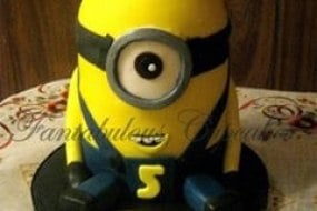 Minion, Minion Cake, Novelty Cakes, Cakes, Fantabulous Cupcakes, party cakes, children's cake