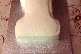 Number cake, celebration cake, party cake, children's cake, Novelty cake, Fantabulous Cupcakes