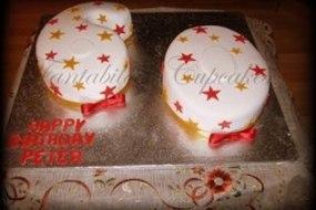 Double digit cake, number cakes, novelty cakes, party cakes, celebration cakes, Fantabulous Cupcakes