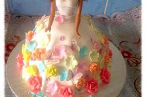 Doll cake, Black doll cake, Ethnic doll cake, cakes, celebration cake, Party cakes, children's cake
