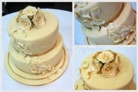 Egg free cake, Cake, roses, petals, wedding cake, party cakes, Fantabulous Cupcakes