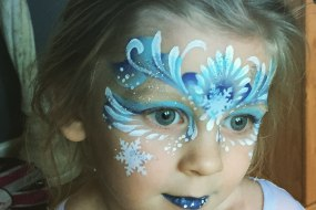 Frozen face paint Childrens party