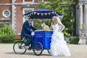 Wedding at Stansted Park Ice Cream Tricycle