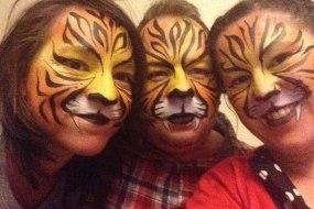 Tiger face art