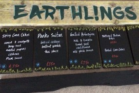 Earthlings Menu Private Function