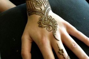 Henna tattoo by H