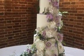 """Summer Haze"" Wedding Cake"