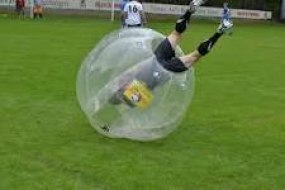Bubble zorb football