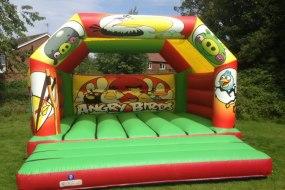 Angry birds bouncy castle