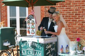 Our tricycles really look the part at weddings