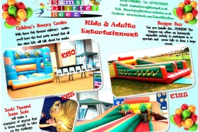 bouncy castle - bungee run - sumo suits