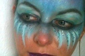 Siren face paint